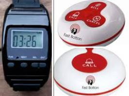 Reloj avisador de Camareros